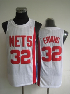 NBA Brooklyn Nets ERVING #32 Jersey-white