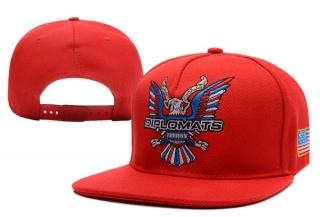 Dipset Diplomats Snapbacks Hat Red - New era hats   cap world ... dbb51cbb601