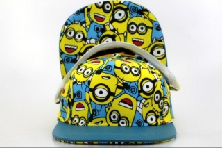 Minions Youth Snapback Hat (7)
